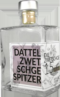 "Flasche Dattelzwetschge (""Spitzer"")"