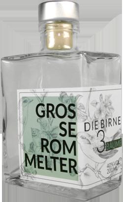 Flasche Große Rommelter