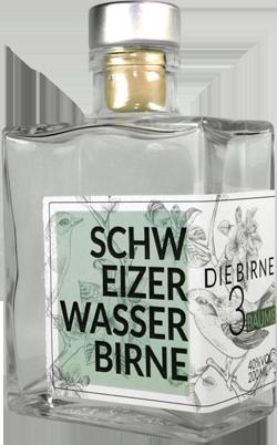 Flasche Schweizer Wasserbirne